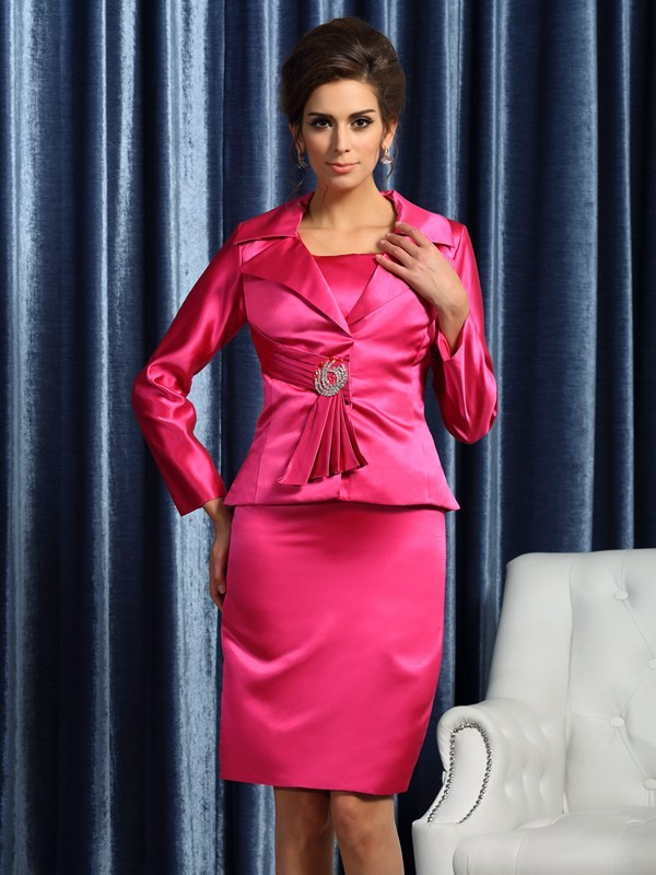 Elegant Satin Long Sleeves Special Occasion Wrap