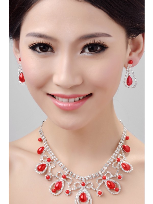 Necklaces Earrings Set ZDRESS4009