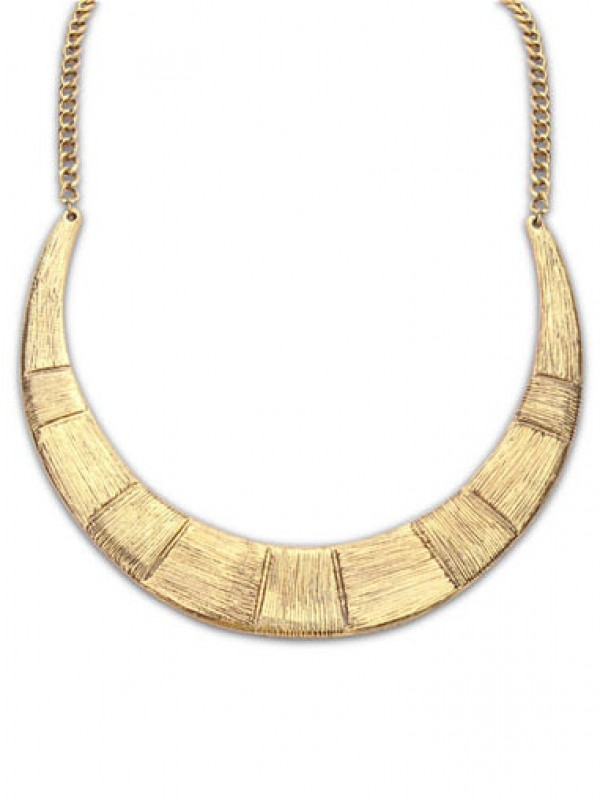 Occident Major suit Semicircle alloy Necklace