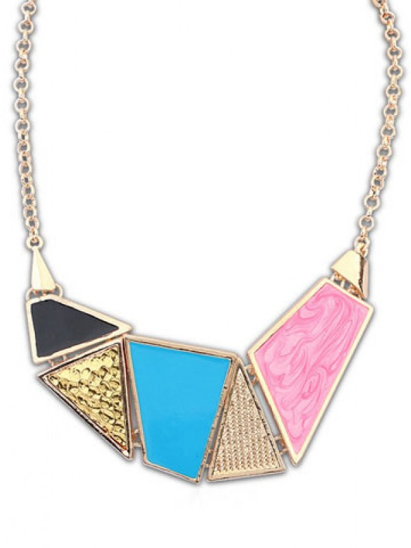 Occident Stylish Street shooting Drop of oil Hot Sale Necklace