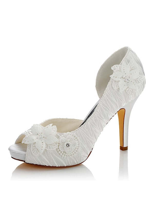 Chic Satin Wedding Shoes SW03704F1I