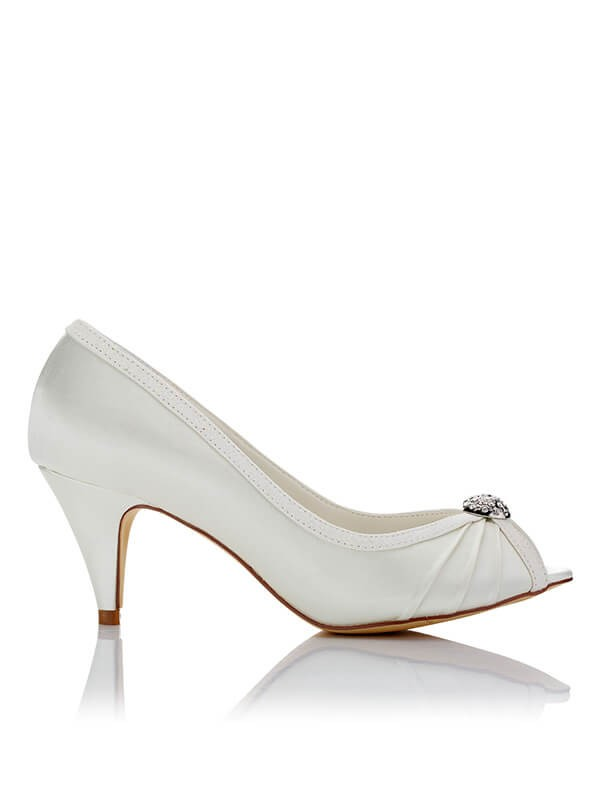 Cheap Satin Wedding Shoes SW05949413B1I