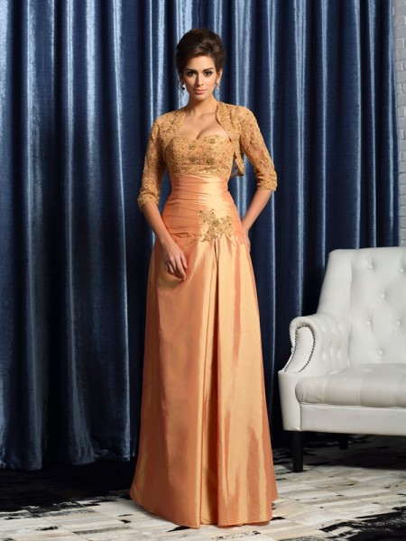Elegant Net Applique 1/2 Sleeves Special Occasion Wrap