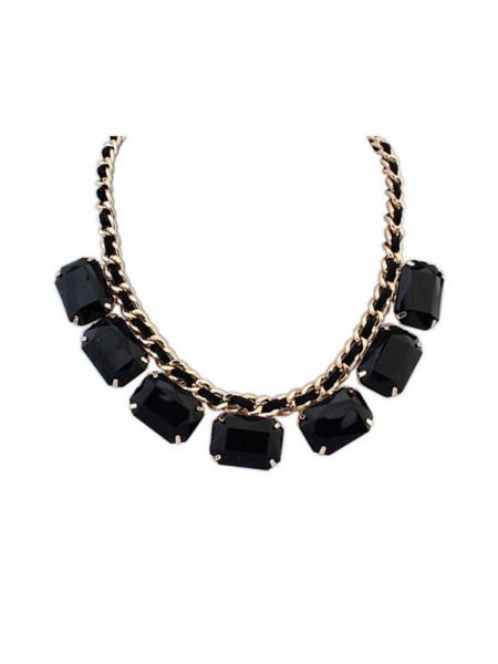 Occident Simple Blocks All-match New Necklace
