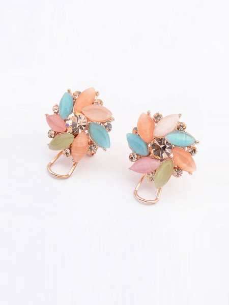 Occident Fashionable Boutique Collision Color Ear Clip