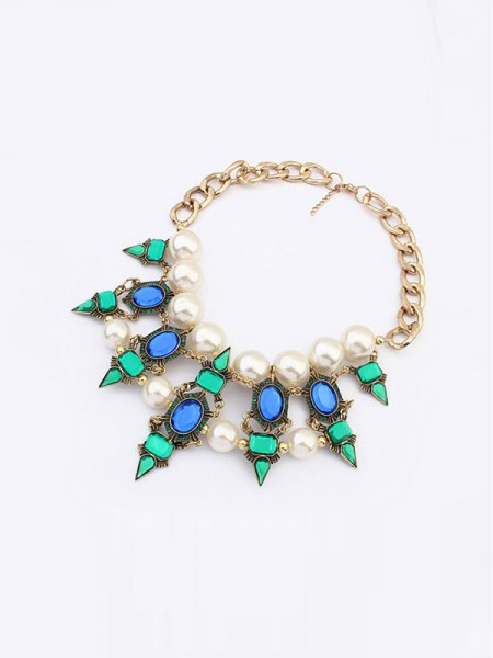 Occident Celebrity Street Shooting Fashionable Necklace