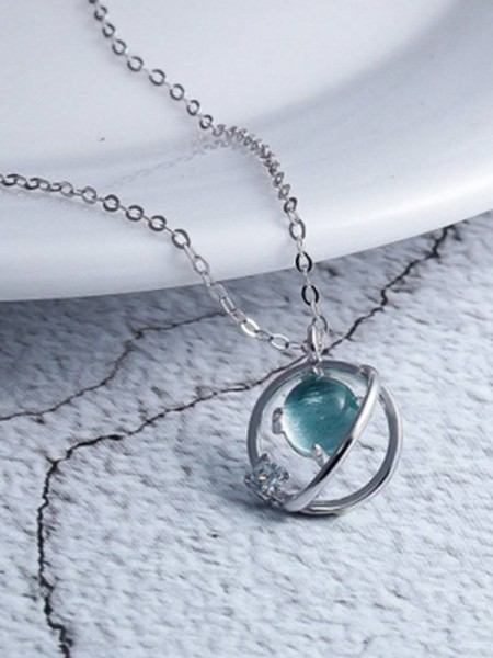 Korean Sterling Silver Necklace