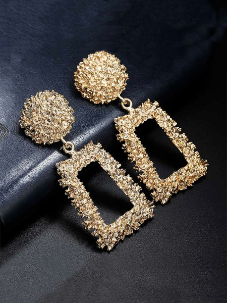 Latest Design Alloy Hot Sale Drop Earrings