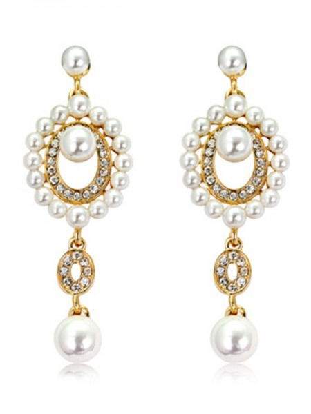 Latest Design Pearl Hot Sale Earrings