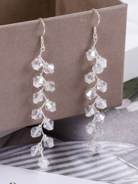 Latest Design Korean Silver Earrings