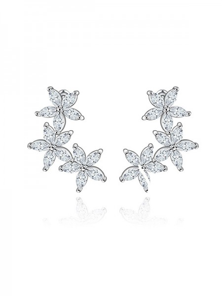 Latest Design Zircon Cubic Zirconia Earrings