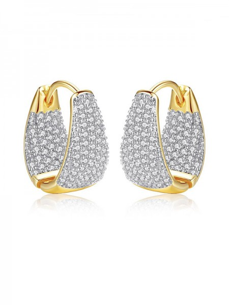 Latest Design Cubic Zirconia Hot Sale Earrings