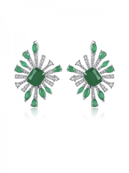 Latest Design Cubic Zirconia Earrings