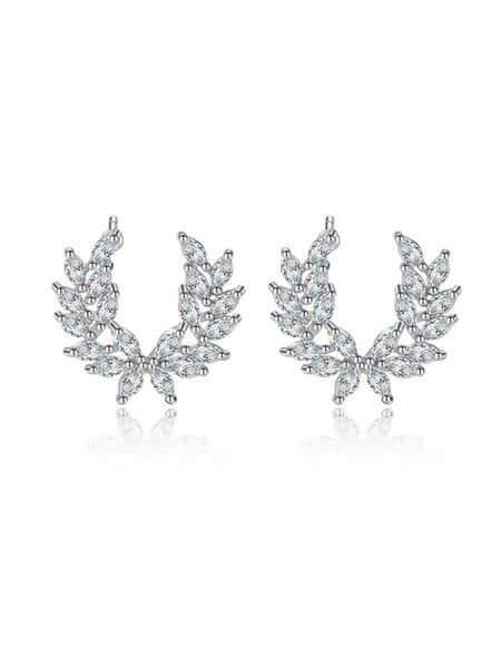 Latest Design Korean Cubic Zirconia Hot Sale Earrings