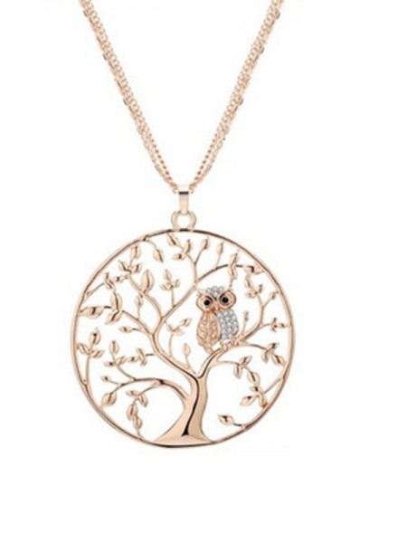 Alloy Necklace Tree