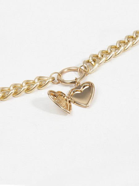 Alloy Heart Hot Sale Necklace