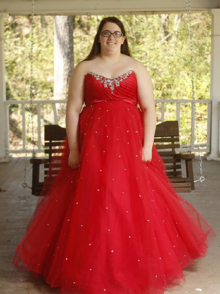 Ball Gown Sweetheart Floor-Length Organza Plus Size Dresses with Beading
